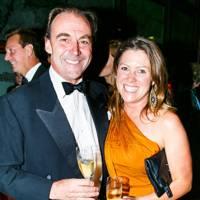 Angus Gold and Georgina Pemberton