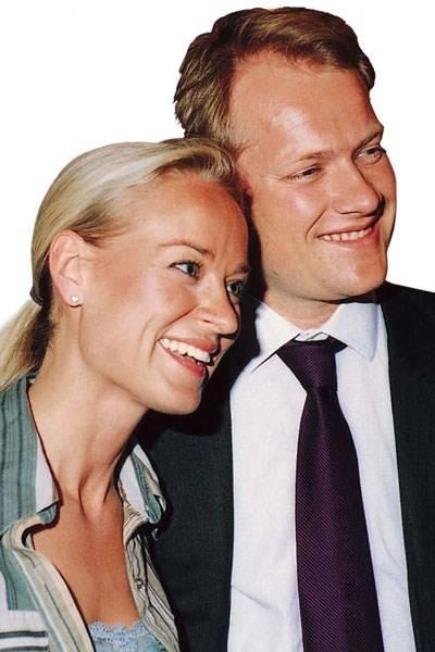 Mrs Mia Ruulio and Erik Mathiesen