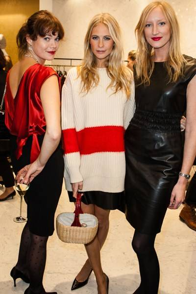 Jasmine Guinness, Poppy Delevingne and Jade Parfitt