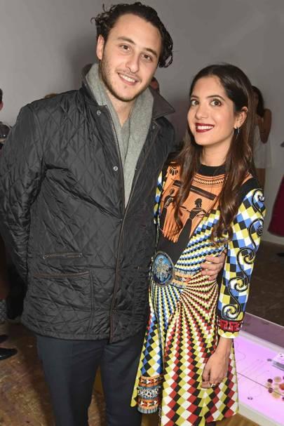 Alexandre Al Khawam and Noor Fares
