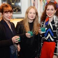 Christina Sotiriou, Victoria Lawrence and Emily Carter