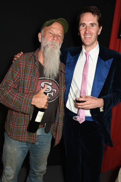 Seasick Steve and Otis Ferry