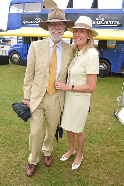 Viscount Cowdray and Viscountess Cowdray