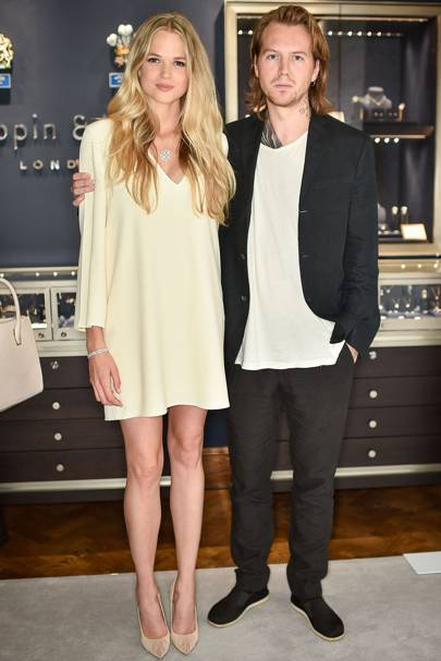 Gabriella Wilde and Alan Powell
