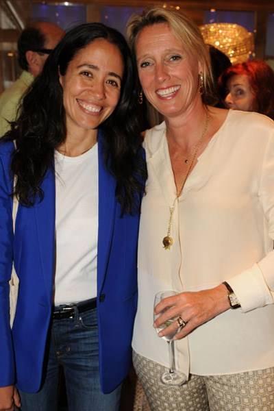 Carmen Borgonovo and Annoushka Ducas