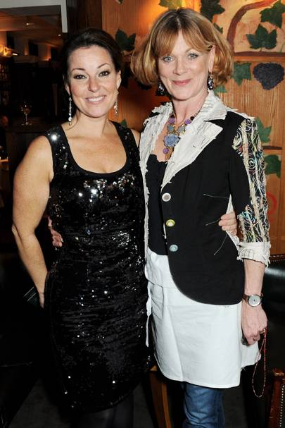 Ruthie Henshall and Samantha Bond