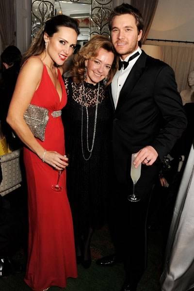 Elle Caring, Caroline Scheufele and Ben Caring