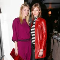 Heidi Mount and Karlie Kloss