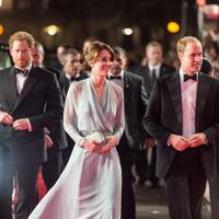 Prince Harry, the Duchess of Cambridge and the Duke of Cambridge