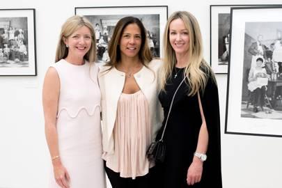 Sarah Khairallah, Elise Kandrac and Alison Henry