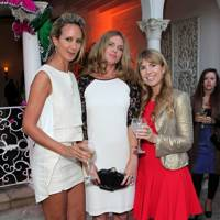 Lady Victoria Hervey, Evgenia Lorcy and Julia Verdin
