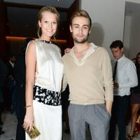 Toni Garrn and Douglas Booth