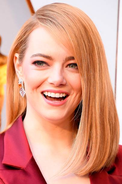 Emma Stone in Louis Vuitton at the Oscars