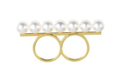 Gold & pearl ring, £3,600, by Thakoon for Tasaki at Dover Street Market