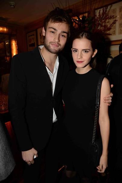 Douglas Booth and Emma Watson