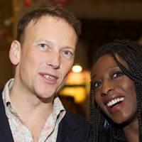 Christopher Woodward and Fatima Jatta