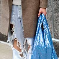 IRONIC SHOPPING BAG