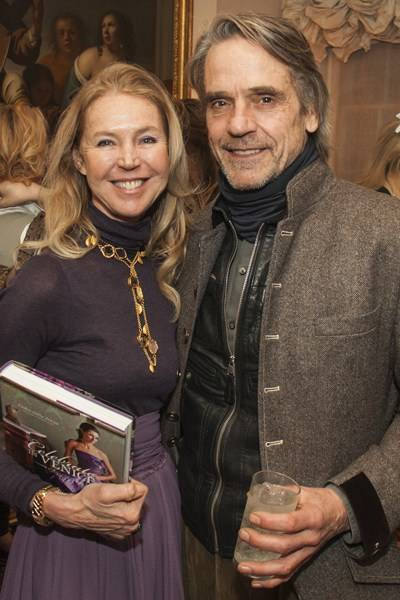 Francesca Bortolotto Possati and Jeremy Irons