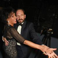 Dame Shirley Bassey and Ralph Fiennes