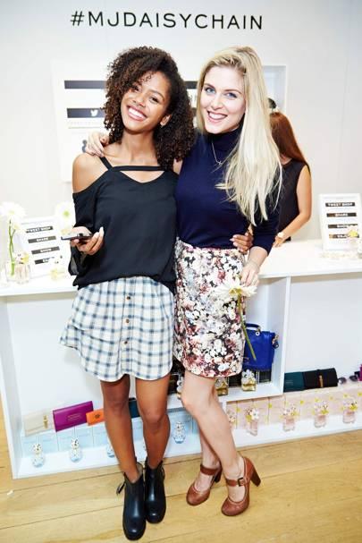 Tasha Green and Ashley James