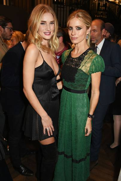 Rosie Huntington-Whiteley and Laura Bailey