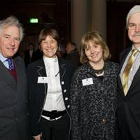 Lord and Lady Waldegrave and Jennifer and Tony Little