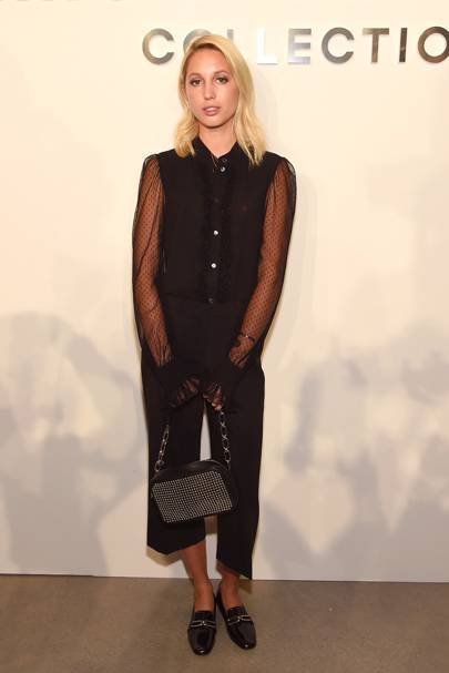 Princess Maria-Olympia of Greece at the Michael Kors Collection show, S/S17