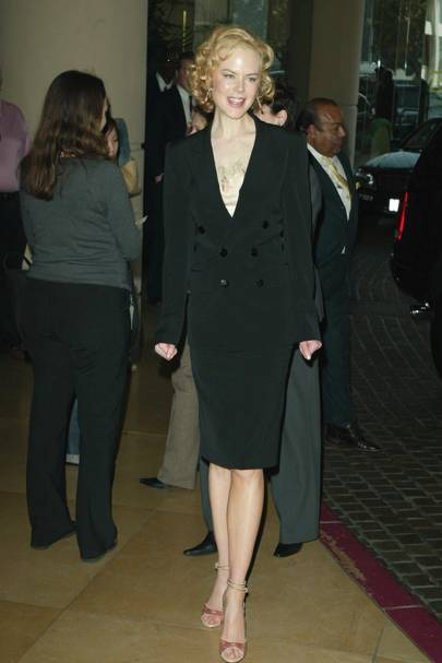 At the Oscar Nominee Luncheon, 2003