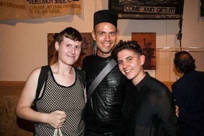 LJ Roberts, Zafire Vrba and Bex Wade