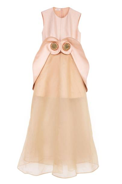 Twill dress, £5,940, by Delpozo