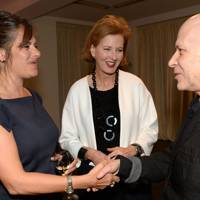 Tracey Emin, Julia Peyton-Jones and Adrian Joffe