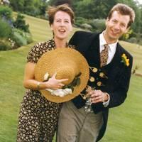 Mrs Giles Gibbs and Giles Gibbs