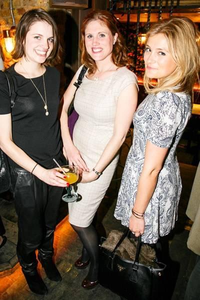 Beanie Major, Katherine Ebsworth and Hetty Chidwick