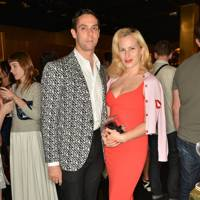 Maxim Crewe and Charlotte Dellal