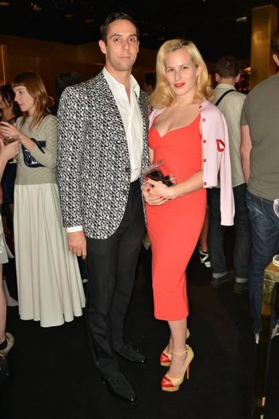 Maxim Crewe and Charlotte Dellal