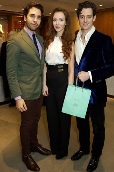 Diego Bivero-Volpe, Olivia Grant and Simon Ambrose