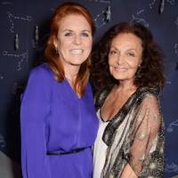 Sarah, Duchess of York and Diane von Furstenberg