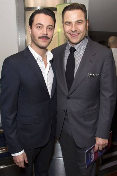 Jack Huston and David Walliams