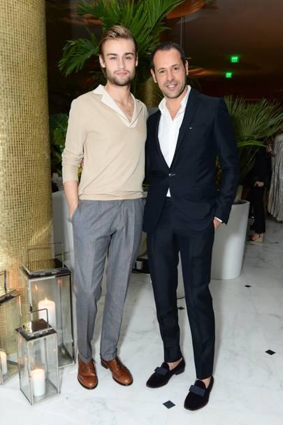 Douglas Booth and Massimiliano Giornetti