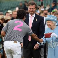Laurent Feniou and the Queen