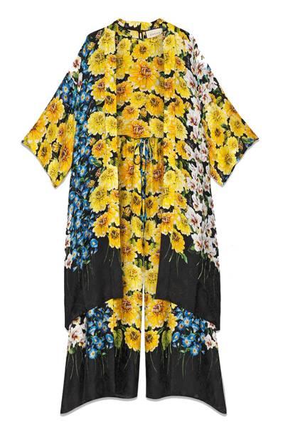 Gucci kimono top and pants