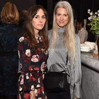 Tania Fares and Sarah Harris