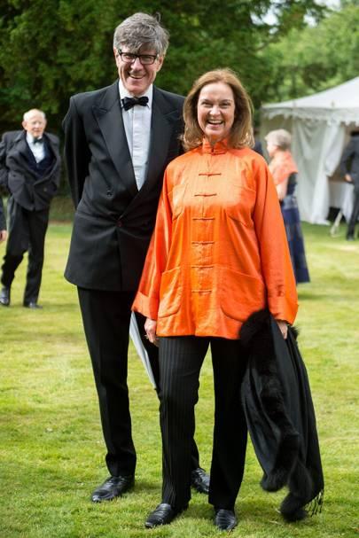 Oliver Brind and Karen Brind