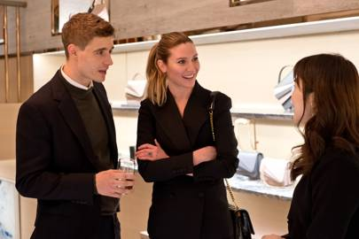 Max Irons, Sophie Pera and Grace Han