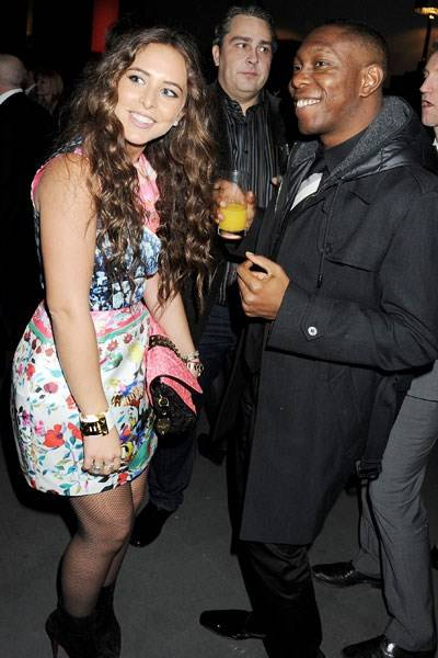 Chloe Green and Dizzee Rascal