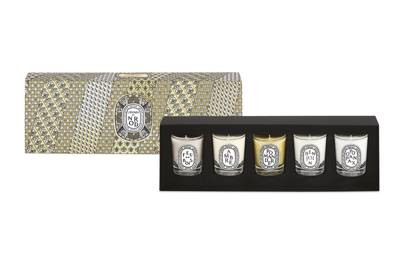 Diptyque 5 Mini Candles Set