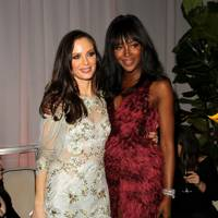 Georgina Chapman and Naomi Campbell