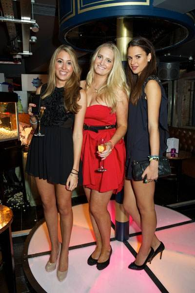 Theodora Goodwin, Georgie Le Roux and Katie McFadden