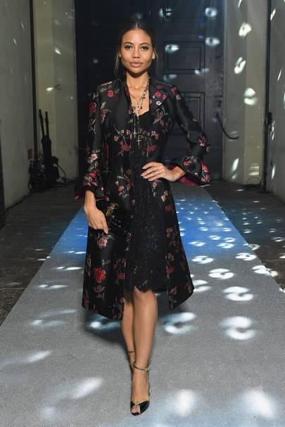 Viscountess Weymouth at Dolce & Gabbana A/W18