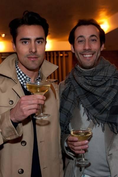 Alexander Ljungblom and Andre de Trichateau